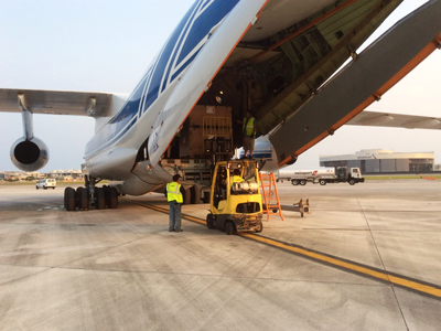 Volga-Dnepr Airlines joins hurricane Irma relief effort with An-124-100 and IL-76td-90VD flights to Pointe-à-Pitre, Bridgetown and Miami