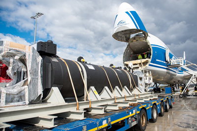 A record 40-tonne shipment finds its perfect match with abc XL solution