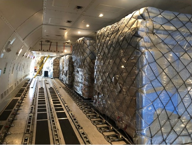 AirBridgeCargo Airlines together with ATRAN Airlines have transported over 170 tons of medical equipment to Krasnoyarsk