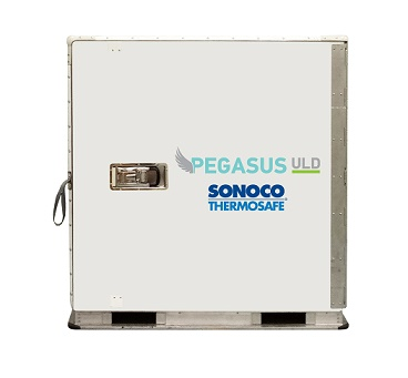 AirBridgeCargo Airlines expands its partnership with Sonoco ThermoSafe to embrace new Pegasus ULD passive container