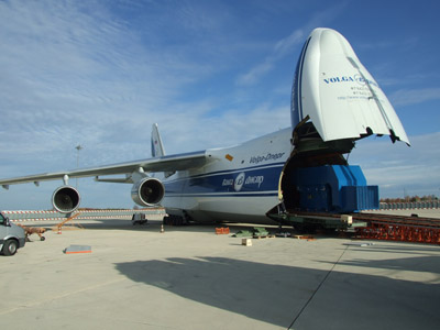 Volga-Dnepr Airlines' 7-hour airfreight solution saves customer a 20-day sea journey