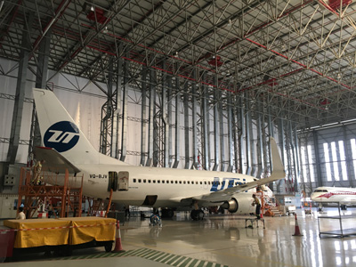VD Gulf and UTair sign for a series of Boeing 737 Heavy/ Base Maintenance Checks