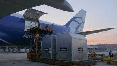 AirBridgeCargo Airlines moves one step further with its IoT concept in partnership with Unilode Aviation Solutions