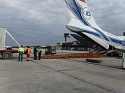 Volga-Dnepr's new 'wing lift' system expedites loading of large cargo containers