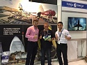 Our congratulations to Philip Huizenga (Carnarvon Petroleum Ltd.) winning one of our limited edition LEGO An-124-100 at the ompetition held at our stand during AOG'17, Perth, Australia!