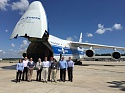 Volga-Dnepr Invites Customers to Tour its Legendary An-124-100 in Houston