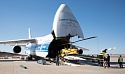 Volga-Dnepr An-124-100 races fire-fighting helicopters to Chile