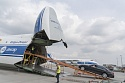 Volga-Dnepr An-124-100 delivers 30 Mercedes vehicles to Angola for new President's inauguration ceremony
