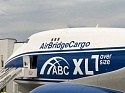 AirBridgeCargo reports 10% growth of 'nose-cargo-door' loaded shipments as it presents its new 'abc XL' livery
