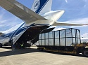 Volga-Dnepr An-124-100 speeds up the delivery of 197 tonnes of automotive cargo for Nippon Express